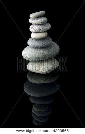 Balanced Stone Stack