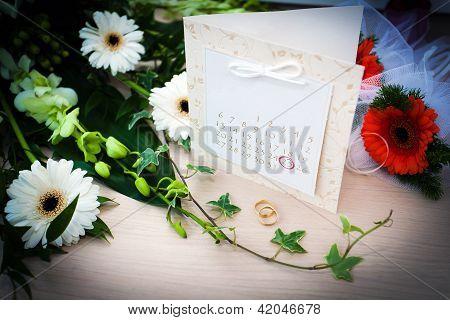 Wedding Planning Day - Date Of A Wedding Circled On A Calendar