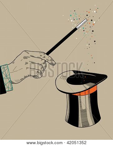 Magic trick.