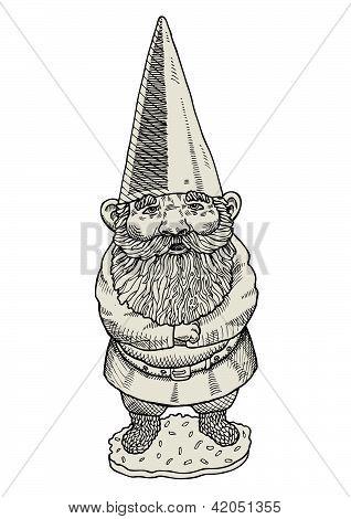 Proud gnome.