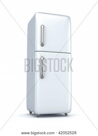 Modern refrigerator.