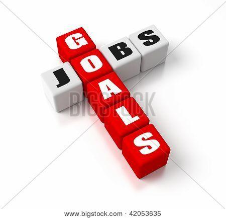 Goals Jobs Red