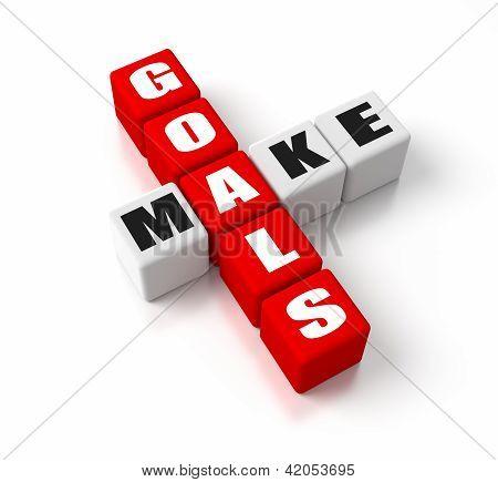 Make Goals Red