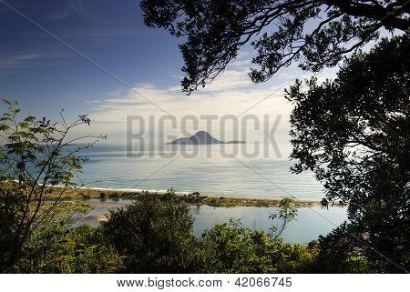 Whale Island, Whakatane, New Zealand.