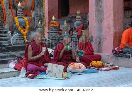 Kagyu Monlam In Bodgaya,india