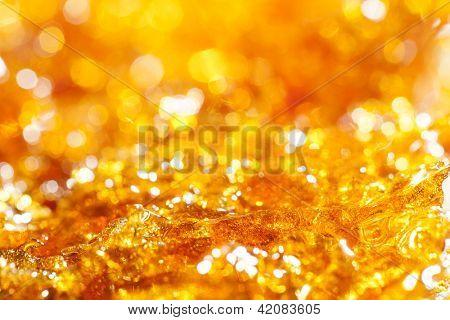 caramel gold glitter background