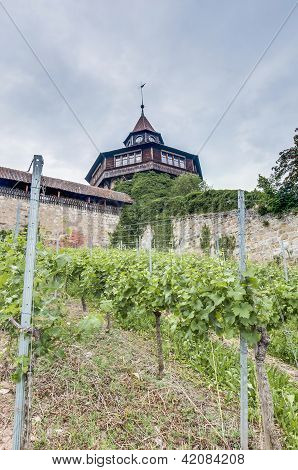 Esslingen Am Neckar Castle's Big Tower, Germany