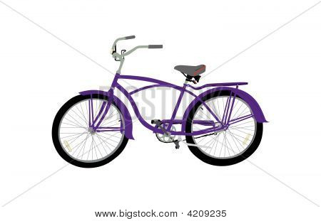 Bicycle Purple