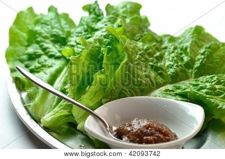 Yakiniku lettuce called Sanche