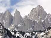 stock photo of mt whitney  - mt whitney - JPG