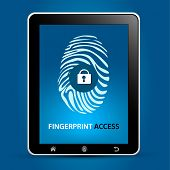 Fingerprint Scanning Tablet