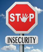stop insecurity increase safety no shame or fear overcome shy ashamed feeling