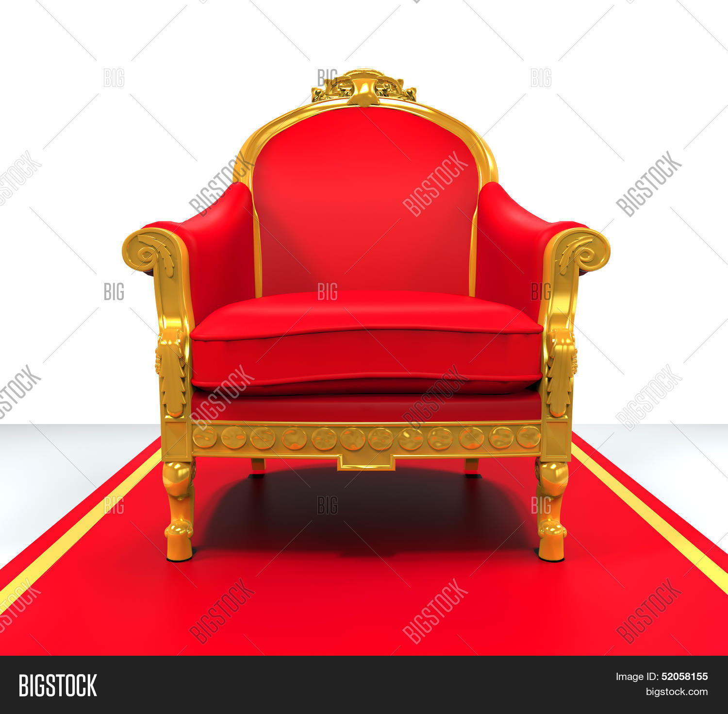 King throne chair stock photo stock images bigstock for Throne chair plans