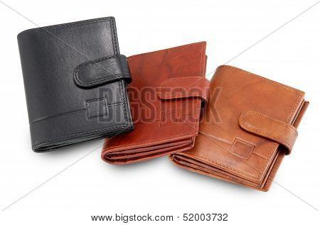 Three Stylish Wallets
