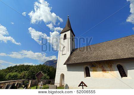 Small Gothic Church, Obersch�tt Austria