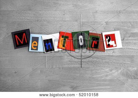 Mentor - Sign For Mentoring