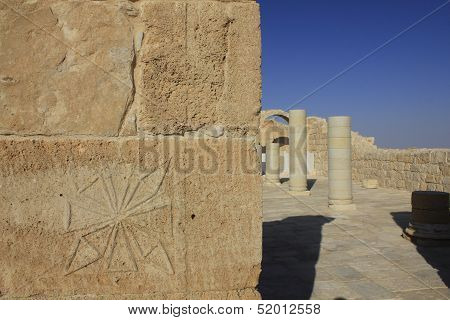 Avdat, the ancient city of Nabateans People