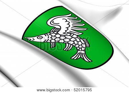 Weng Im Innkreis Coat Of Arms, Austria.