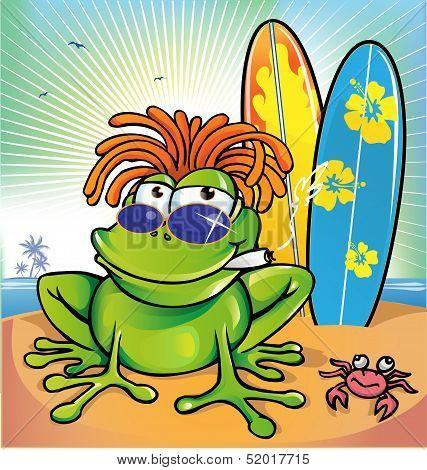 Jamaican Frog  Summer