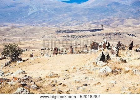 Stone Circle Pre-history Zorats Karer In Armenia
