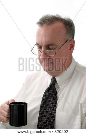 Business Man Coffee Break Ver2