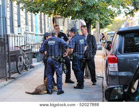 K9 & Detectives Confer