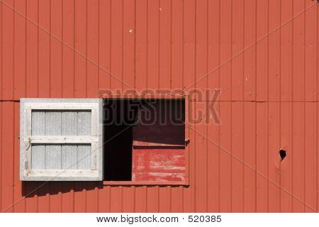 Swing Window On Barn