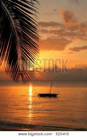 Sunrise In Ocean