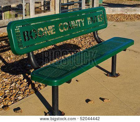 Park Bench In Burlington Kentucky