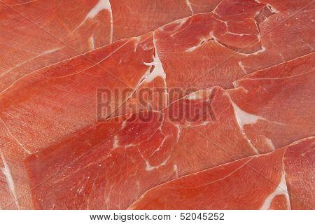 Red Ham Prosciutto Sliced