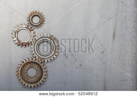 Four Unique Gears