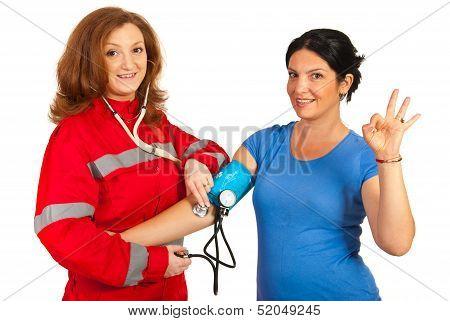 Blood Pressure It Is Okay