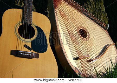 Two Music Instruments