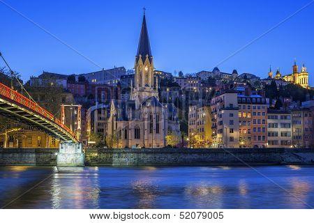 Famous Church In Lyon