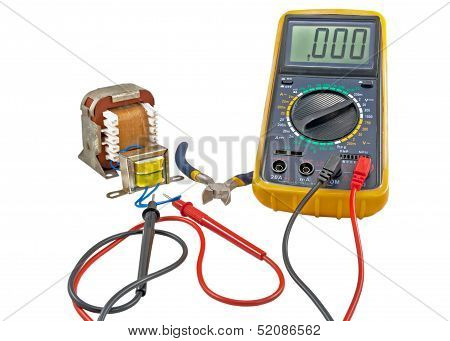 Transformer And Measuring Device