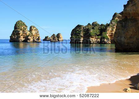 Dona Ana Beach in Lagos, Algarve, Portugal