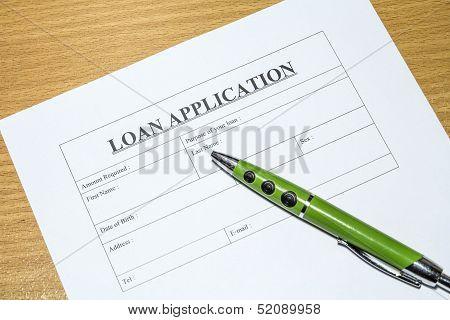 Loan Application.