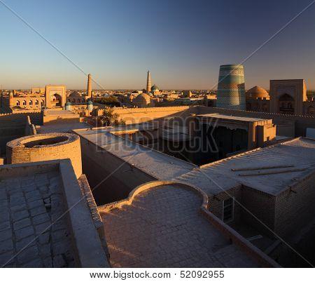 Ancient town of Itchan Kala. Khiva, Uzbekistan