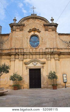 St. Maria degli Angeli Church. San Vito dei Normanni. Puglia.
