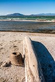 foto of dauphin  - Fishing boats and basket in southern Madagascar - JPG