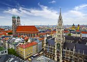 picture of city hall  - Munich - JPG