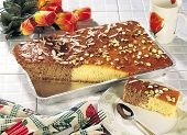 stock photo of bangla  - A fresh delicious cake made with butter and egg - JPG