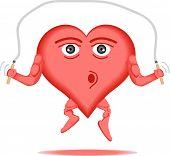 Постер, плакат: Здоровое сердце