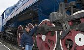 The Machinist Repairs A Steam Locomotive