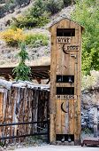 picture of outhouses  - Which would you rather be - JPG