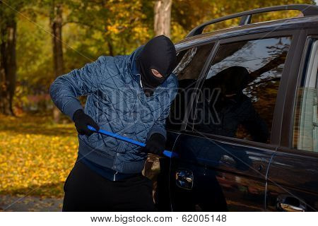 Bandit Opennig The Car's Door