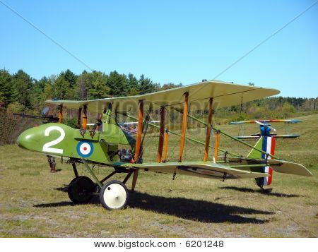 World War I British Fighter Biplane