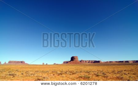 Pano Landscape Of Monument Valley, Utah, Usa