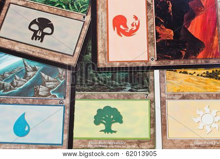The Land Cards Of Game Magic The Gathering