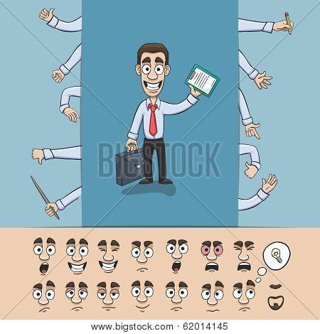 Business man construction pack